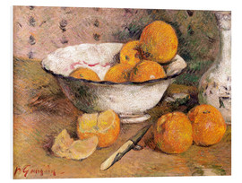 Stampa su schiuma dura  Still life with Oranges - Paul Gauguin