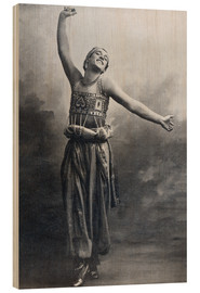Stampa su legno  Vaslav Nijinsky in the role of the Black Slave from 'Scheherazade' - French Photographer