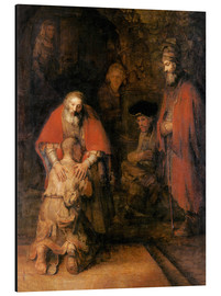 Alluminio Dibond  Return of the Prodigal Son - Rembrandt van Rijn