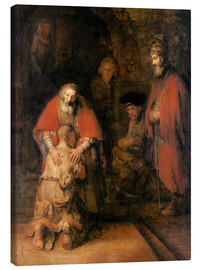 Tela  Return of the Prodigal Son - Rembrandt van Rijn
