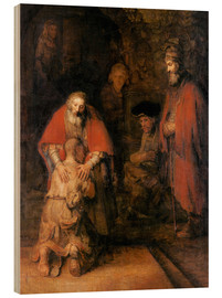 Legno  Return of the Prodigal Son - Rembrandt van Rijn