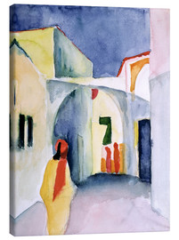 Stampa su tela  Alley in Tunis - August Macke