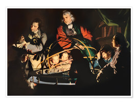 Poster Premium  The Orrery - Joseph Wright of Derby