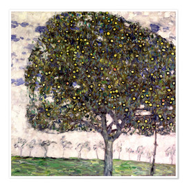 Poster Premium  The Apple Tree II - Gustav Klimt