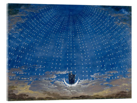 Vetro acrilico  The Palace of the Queen of the Night - Karl Friedrich Schinkel