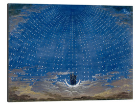 Alluminio Dibond  The Palace of the Queen of the Night - Karl Friedrich Schinkel