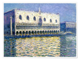 Poster  The Ducal Palace - Claude Monet