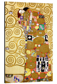 Alluminio Dibond  The Tree of Life (Fulfilment) - Gustav Klimt