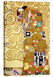 Stampa su tela  The Tree of Life (Fulfilment) - Gustav Klimt