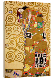 Legno  The Tree of Life (Fulfilment) - Gustav Klimt