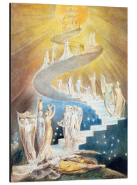 Stampa su alluminio  Jacob's Ladder - William Blake