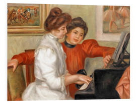 Forex  Yvonne and Christine Lerolle at the piano - Pierre-Auguste Renoir