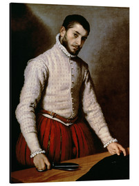 Stampa su alluminio  The Tailor - Giovanni Battista Moroni