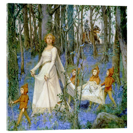 Stampa su vetro acrilico  The Fairy Wood - Henry Meynell Rheam