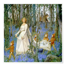 Poster Premium  The Fairy Wood - Henry Meynell Rheam