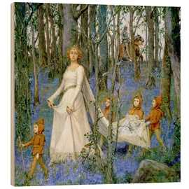 Stampa su legno  The Fairy Wood - Henry Meynell Rheam