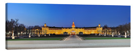 Tela  Panoramic view of palace Karlsruhe Germany - Fine Art Images