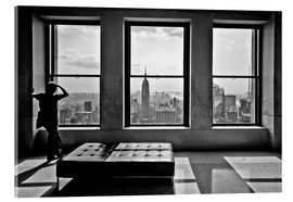 Stampa su vetro acrilico  New York, Top of the Rock - Thomas Splietker