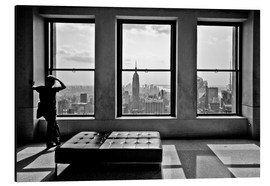 Alluminio Dibond  New York - Top of the Rock - Thomas Splietker