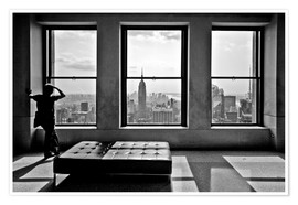 Poster Premium  New York, Top of the Rock - Thomas Splietker