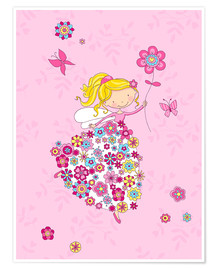 Poster Premium  Flower Princess - Fluffy Feelings