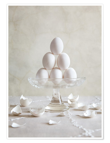 Poster Premium Still Life with Eggs