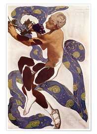 Poster Premium Afternoon of a Faun