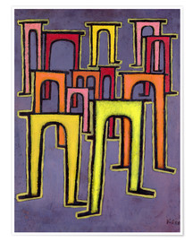 Poster Premium  Revolution of the Viaduct - Paul Klee