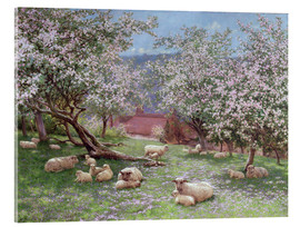 Vetro acrilico  Appleblossom - William Biscombe Gardner