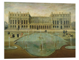 Stampa su schiuma dura  Chateau de Versailles from the Garden Side - French School