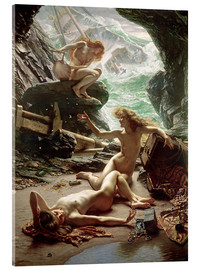 Vetro acrilico  The Cave of the Storm Nymphs - Sir Edward John Poynter