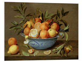 Jacob van Hulsdonck - Still Life with Oranges and Lemons
