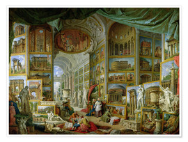 Poster Premium Gallery of Views of Ancient Rome