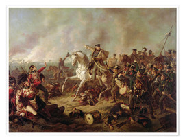 Poster Premium The Battle of Waterloo