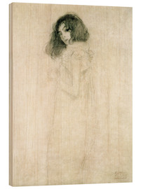 Legno  Portrait of a young woman - Gustav Klimt