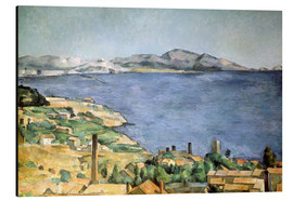 Stampa su alluminio  Bay of Marseille - Paul Cézanne