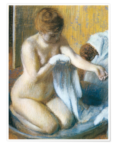 Poster Premium Woman in a Tub