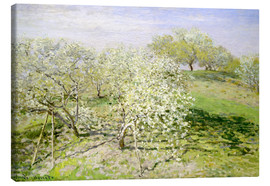 Claude Monet - Spring, flowering apple trees
