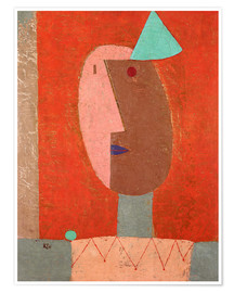 Poster Premium  Clown - Paul Klee