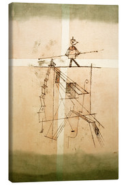 Stampa su tela  Tightrope Walker - Paul Klee