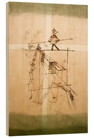 Legno  Tightrope Walker - Paul Klee