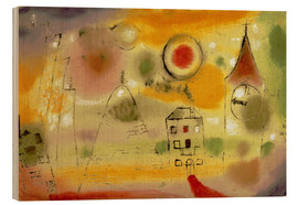 Legno  Winter Day Just Before Noon - Paul Klee