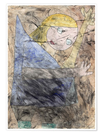Poster  Angel - Paul Klee
