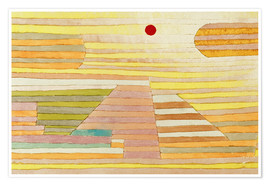 Poster Premium  Evening in Egypt - Paul Klee