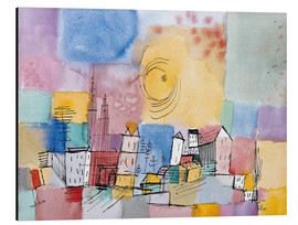 Alluminio Dibond  German city - Paul Klee