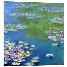 Forex  Nymphéas - Claude Monet