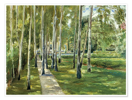 Max Liebermann - Birch grove