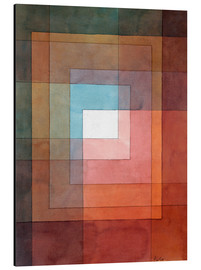 Stampa su alluminio  White Framed Polyphonically - Paul Klee