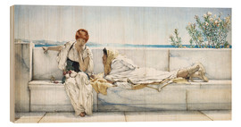 Legno  A Question - Lawrence Alma-Tadema