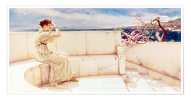 Poster Premium  Expectations - Lawrence Alma-Tadema